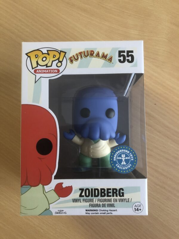 Futurama - 55 - Zoidberg - Underground Toys Exclusive
