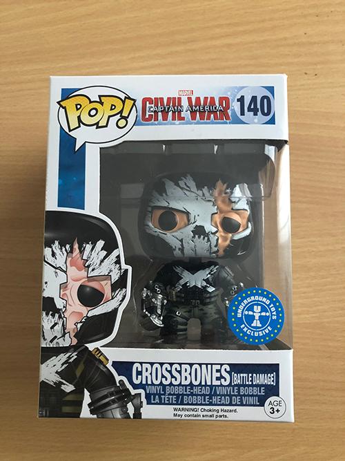 Crossbones - 140 - Underground Toys Exclusive